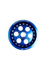 Blue Underdrive Crank Pulley For 2002-2009 Altima Sentra 2.5L DOHC QR25DE By OBX