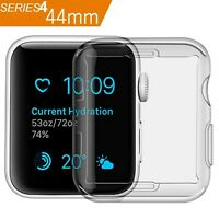 Case Compatible Apple Watch 4 Clear Case with Built in TPU Screen Protector 4...