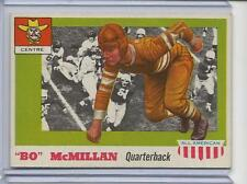 1955 Topps All American Football #47 BO McMILLAN EX NM Centre Vintage Old Card