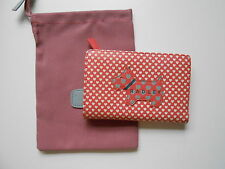 NEW LOVE RADLEY CORAL MEDIUM LEATHER ZIP PURSE RRP£55 WITH DUST BAG