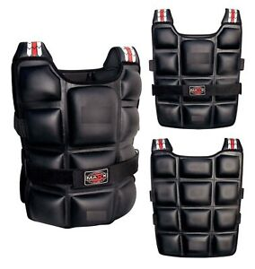 Maxx® Weighted Jacket Contoured Training Vest 10kg 12kg 14kg 20kg Weighted Vests