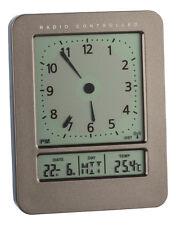 Radio-réveil TFA 60.2530.10 Heure radio-pilotée DCF-77 température interne