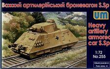 Heavy artillery armored car S.Sp << UM #255, 1/72 scale