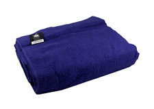 Jumbo Extra Large Bath Sheet Towel Navy Blue 500gsm 100% Cotton 150cm x 200cm