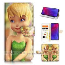( For Oppo Reno Z ) Flip Wallet Case Cover PB21065 Tinkerbell