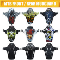 Fold MTB Mudguard Mountain Bike Bicycle Fender Front Ride Mud Enduro Guard