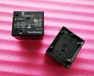 2pcs 12V T7CS5D-12 ( 12VDC ) TE Power Relay 5Pins