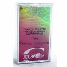 Roberto Cavalli Just Pink' Eau de Toilette Vapo ML 30 ***Rare***