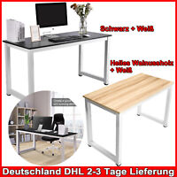 140cm Schreibtisch Computertisch Bürotisch Home Office Eckschreibtisch Esstisch
