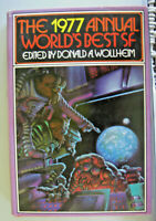 The 1977 Annual World's Best SF by Donald A. Wollheim 1977 HC First Printing