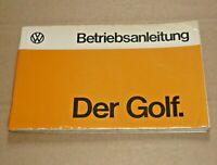 VW Golf I 1974 Betriebsanleitung Bedienungsanleitung Handbuch