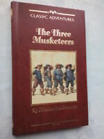 ALEXANDRE DUMAS THE THREE MUSKETEERS FAUX LEATHER 1991 NEW UNREAD CLASSIC