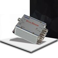 Wide Frequency Range TV Signal Booster 1 In 4 Out Indoor CATV Splitter Amplifier