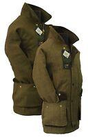 Derby Tweed Hunting Shooting Jacket Teflon Breathable Wool Coat