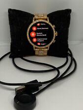 Fossil Gen 4 FTW6011 Womens Stainless Steel Digital Dial Wrist Smart Watch NA351
