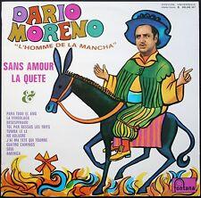 DARIO MORENO L'HOMME DE LA MANCHA DESEPERADO GAINSBOURG RARE 33T LP BIEM MINT