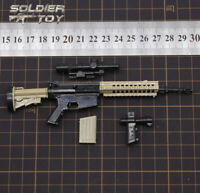 """Free Shipping 4D 1/6 Scale M4 Model Assault Rifle Weapon for 12"""" Figure"""