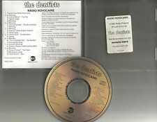 THE DENTISTS Radio Novocaine SHOW PROMO DJ CD 1994 & BLUR Breeders THE FALL 1994