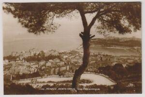 Monaco postcard - Monte Carlo, vue panoramic - (A8)