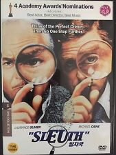 Sleuth, DVD, 2010,English w/Korean Subtitles, Michael Caine, Laurence Olivier