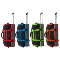 "Wheeled Holdall Luggage Trolley Suitcase Waterproof Duffle Bag  22"" 26"" 30"" XXL"
