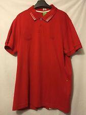 Genuine Hugo Boss Paule Flag England Jersey Red Polo Shirt Xxl BNWT