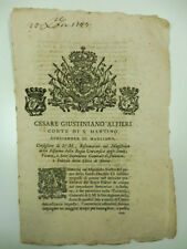 Cesare Giustiniano Alfieri, sovvenzionamento guerra
