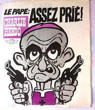 """Charlie Hebdo N°391 du 11/05/1978; """"Le Pape; Assez Prié !"""""""