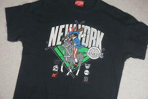 Vintage Negro League Black Yankees T Shirt Black Size Large