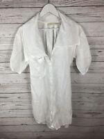 ALLSAINTS SWAREN OVERSIZED SHIRT Dress - UK8 - Great Condition - Women's