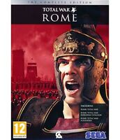 Pc Rome Total War 1 Complete Edition incl. Add On Alexander & Barbarian