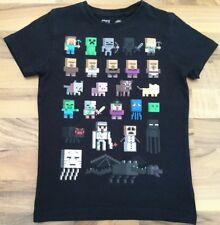 BOYS NEXT MINECRAFT SHORT SLEEVED T-SHIRT AGE 6 YEARS