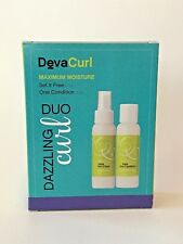 DEVACURL  DAZZLING DUO Set it Free and One Condition 3 oz each