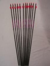 Scheels Rogue Carbon Shaft Arrows Spine 500 1 Dozen for Recurve/Compound Bow
