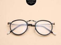 Light fashion TR90 vintage Retro Literary round full rim adult eyeglass frames