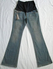 """Maternity Bootcut Over Bump Stretch Jeans Size 8L 31""""Leg BNWT"""