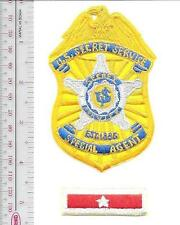 US Secret Service USSS Texas Representing Badge & Lapel ID Pin JFK POTUS gold