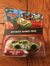 Mattel Disney Pixar Cars SHINY WAX #82 Kmart Exclusive Rubber Tires Kday