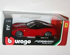 Burago - FERRARI 599 GTO (Red) - Die Cast Model - Scale 1:24