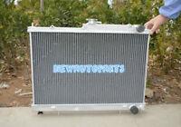 Aluminum Radiator For NISSAN SKYLINE R33 R34 GTR GTS-T GTST RB25DET MT