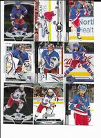 New York Rangers ~350 Card Sorted PANARIN GRETZKY MESSIER IGOR Lot No Dupes!