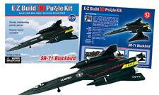 SR-71 Blackbird EZ Build 3D Puzzle Model Kit>Ask For Combined Shipping< EZ-PSR71