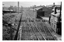 bb0339 - Bishop Auckland Railway Station , Durham in 1965 - photograph