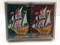 Vintage Playing Cards ARRCO Complete Double Deck - Ships Sailing Boats Swap Card