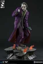 Sideshow Collectibles JOKER DARK KNIGHT Exclusive PF Fig Statue Batman DC Comics