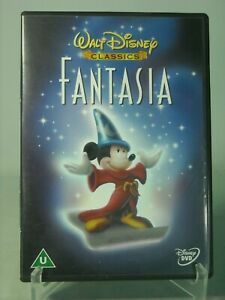 FANTASIA DVD Disney Animated Classic VGC
