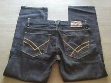 Mens Designer William Rast Jeans ▪︎Sz 34 × 30▪︎Button Fly ▪︎STRAIGHT ▪︎NWOT