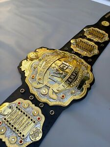 Iwgp V4 HeavyWeight Championship Belt Replica, 4 Layers , 4mm Zinc Plates, Adult
