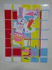 dessin collage art contemporain singulier brut outsider signé danseur somnambule