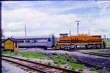 Kodachrome Original Slide Genesse & Wyoming Passenger Extra (1990) #CC961